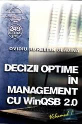 Decizii optime in management cu winqsb 2.0 vol.1 - Ovidiu Aurelian Blajina Carti