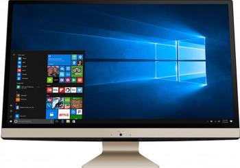 Desktop All-in-One ASUS M241DAK AMD Ryzen 5 3500U 256GB SSD 8GB Radeon Vega 8 FullHD Win10 Pro Black-Gold Calculatoare Desktop