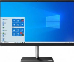 Desktop All-in-One Lenovo V30a-24IML Intel Core (10th Gen) i3-10110U 256GB SSD 8GB FullHD Win10 Pro Mouse+Tastatura Black Calculatoare Desktop