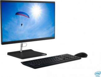 Desktop All-in-One Lenovo V50a 22IMB Intel Core (10th Gen) i5-10400T 256GB SSD 8GB FullHD DVD-RW Mouse+Tastatura Black Calculatoare Desktop