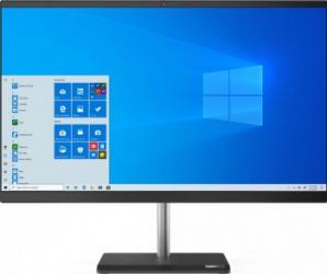Desktop All-in-One Lenovo V50a 24IMB Intel Core (10th Gen) i5-10400T 512GB SSD 16GB FullHD Win10 Pro DVD-RW Mouse+Tastatura Calculatoare Desktop
