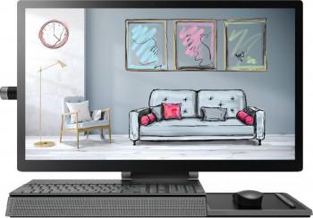 Desktop All-in-One Lenovo YOGA A940-27ICB Intel Core (9th Gen) i7-9700 1TB+1TB SSD 16GB Radeon RX 560 4GB UltraHD Touch Win10 Pro Iron Grey Calculatoare Desktop