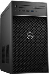Desktop Dell Precision 3640 MT Intel Core (10th Gen) i7-10700 512GB SSD 64GB Nvidia Quadro P2200 5GB Win10 Pro M+Tast.