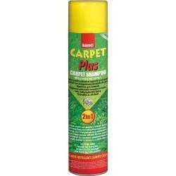 Detergent spuma cu aerosol pentru covoare Sano Carpet Plus 2in1 600ml