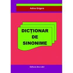 Dictionar de sinonime Carti