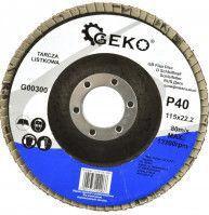 Disc abraziv 115mm P40 GEKO G00300