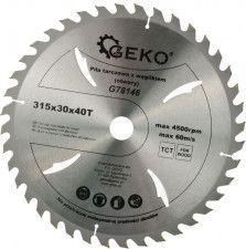 Disc circular pentru lemn 315x30x40T GEKO G78146