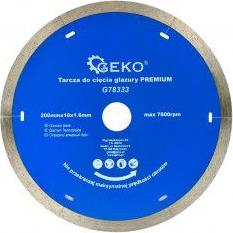 Disc diamantat 200mm10x1.6mm Geko PREMIUM G78333