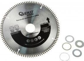 Disc pentru aluminiu cu kit de reductoare 200/25 x 100Tx32mm Geko G78100
