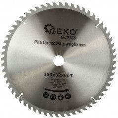 Disc pentru lemn 350x32x60T Geko G00156