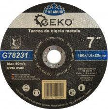 Disc pentru taierea metalului 180mm GEKO G78231