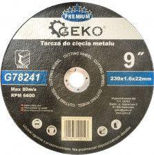 Disc pentru tierea oelului 230mm GEKO G78241
