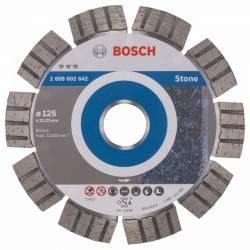 Disc diamantat pentru granit piatra Bosch Best for Stone 125 mm