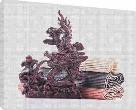 Dragon japonez 1 - Tablou canvas - 70x100 cm Tablouri