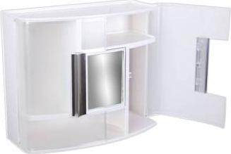 Dulap pentru baie cu oglinda 38x32x17cm