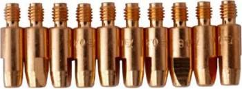 Duza de contact TBi M6 L28mm pentru sarma 1.0mm de aluminiu set de 10buc Accesorii Sudura