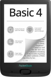eBook Reader PocketBook Basic 4 6inch E Ink Carta 8GB+slot microSD Negru eBook Reader