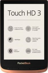 eBook Reader PocketBook Touch HD 3 6inch 16GB LED  WiFi SMARTlight Spicy Copper