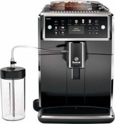 Espressor automat Saeco Xelsis SM758000 Sistem Latteduo 12 selectii 5 setari intensitate 15 bar Afisaj LCD Negru Expresoare espressoare cafea