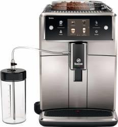 Espressor automat Saeco Xelsis SM768300 Ecran tactil 15 selectii Rasnita ceramica cu 12 trepte AquaClean Negru-Inox Expresoare espressoare cafea