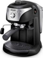 Espressor manual DeLonghi EC221.B Dispozitiv spumare Sistem cappuccino 15 Bar 1 l Oprire automata Negru Gri Expresoare espressoare cafea
