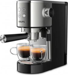 Espressor manual KRUPS Virtuoso XP442C11 1 L 1400 W 15 bar Thermoblock Argintiu Negru Resigilat Expresoare espressoare cafea