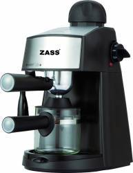 Espressor Manual Zass ZEM 06 800W 3.5bari Capacitate 2-4 cesti Negru Expresoare espressoare cafea