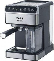Espressor manual Zass ZEM 10 1.8 L 1350 W 16 bar Lapte 0.5 L Panou Touch Inox Expresoare espressoare cafea