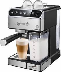 Espressor semi-automat Samus Lattissimo 1.8 L 1350 W 20 bar Negru Inox Expresoare espressoare cafea