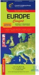 Europa - Harta laminata Harti