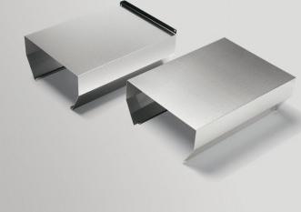 Extensie masca hota tip line-up Electrolux K2000X Otel inoxidabil Accesorii electrocasnice