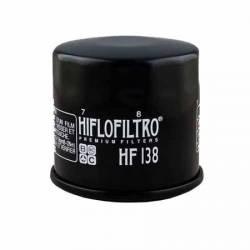 Filtru Ulei Hiflofiltro HF138 - Aprilia RSV4 Kawasaki KLV1000 Suzuki GSF60065012001250 GSR600750 GSX-R60075010001300 DL6 Accesorii Moto