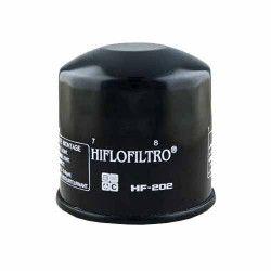Filtru Ulei Hiflofiltro HF202 - Honda VF40050075010001100 VT5007508001100 CBX750 VFR750 Kawasaki EN450 EX500 VN700750 Accesorii Moto