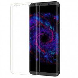 Folie de protectie plastic Full Face pentru Samsung Galaxy S8 Plus margini curbate transparenta