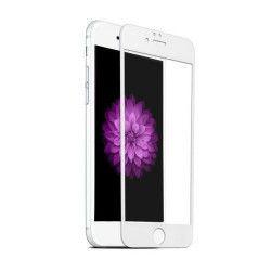 Folie de protectie sticla 4D Iphone 7/8 alb full face