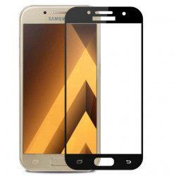 Folie de protectie sticla securizata Full Face pentru Samsung Galaxy A3 2017 / A320 negru