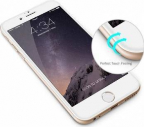 Folie de Protectie Tellur Tempered Glass 3D Tellur Curbata pentru iPhone 6-6S Plus Alba