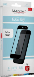 Folie MyScreen FullGlass Samsung A12 Negru Folii Protectie