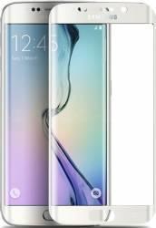 Folie Protectie Sticla 3D Tellur Samsung Galaxy S6 Edge Plus Alba