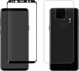 Folie Protectie Eiger Sticla 3D Samsung Galaxy S9 G960 Clear Black