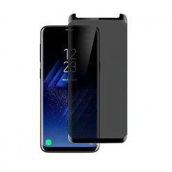 Folie protectie PRIVACY sticla securizata Samsung Galaxy S9 Plus 3D Black