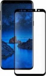 Folie Samsung Galaxy S9 G960 Eiger Sticla 3D Case Friendly Clear Black 0.33mm 9H Curved Oleophob