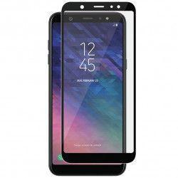 Folie sticla 5D Full Glue pentru Samsung Galaxy A6 Plus 2018 Negru
