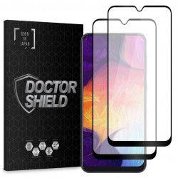 Folie Sticla Dr.Shield Samsung Galaxy A70 Set 2 Bucati Protectie Profesioanala Ecran 3D Full Cover- Negru
