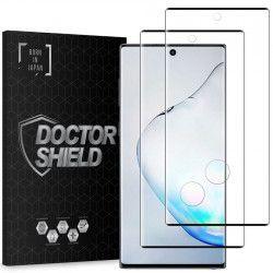 Folie Sticla Dr.Shield Samsung Galaxy Note 10 Set 2 Bucati Protectie Profesioanala Ecran 3D Full Cover- Negru