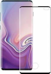 Folie Sticla Eiger 3D Case Friendly Samsung Galaxy S10 Plus Negru Folii Protectie