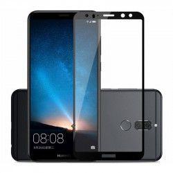 Folie sticla securizata 5D Full Glue pentru Huawei Mate 10 Lite Negru