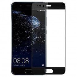 Folie sticla securizata 5D Full Glue pentru Huawei P10 Negru