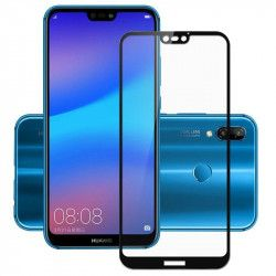 Folie sticla securizata 5D Full Glue pentru Huawei P20 Lite Negru