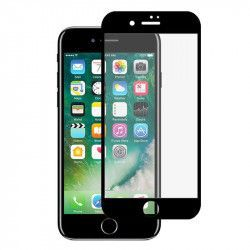 Folie sticla securizata 5D Full Glue pentru iPhone 8 Negru